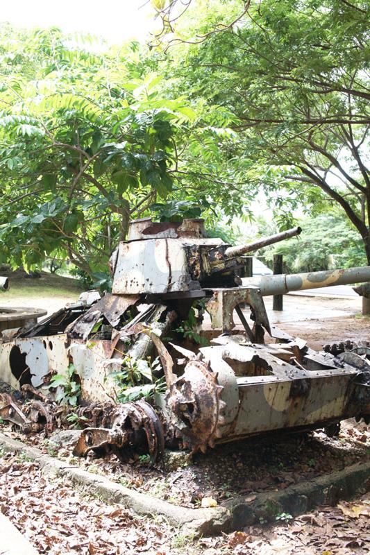 ラスト・コマンドポストの95式軽戦車